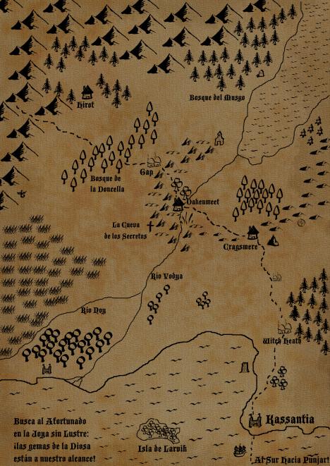 Mapa de la Capa