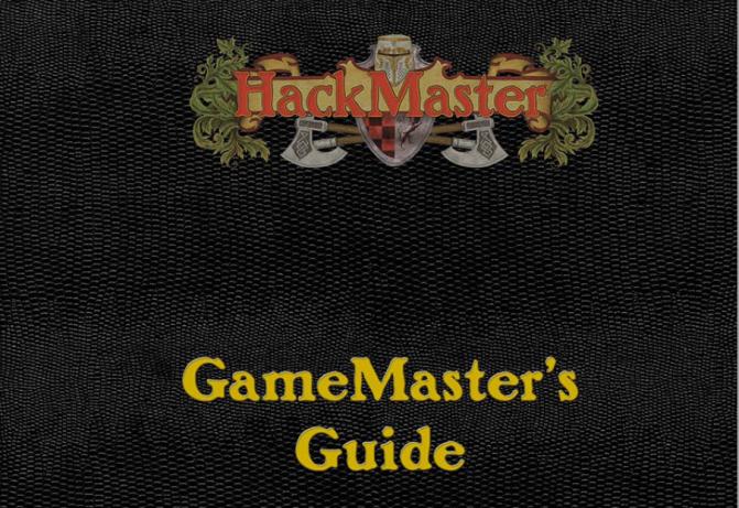 Reseña a Fondo: Hackmaster 5 GameMaster's Guide